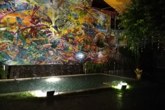 Monsoon in a Balinese Hostel, Kuta